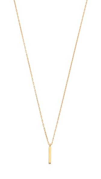 Kristen Elspeth Small Bar Necklace