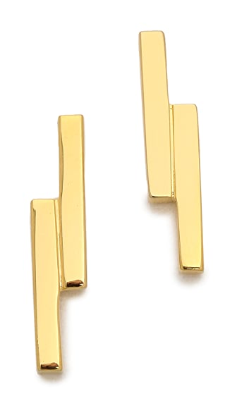 Kristen Elspeth Lightning Stud Earrings