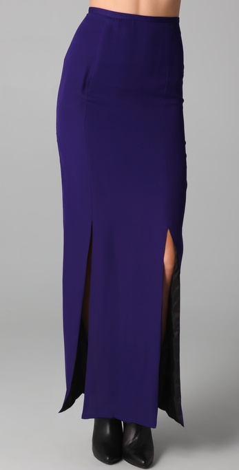Kelly Bergin Double Slit Skirt