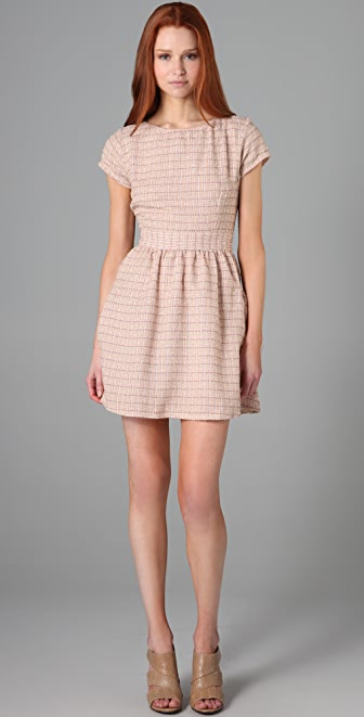 Kenny Penny Pockets Checkered Dress