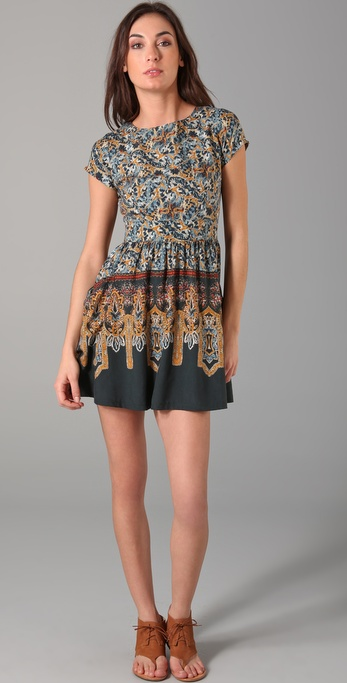 Kenny Penny Pockets Print Dress