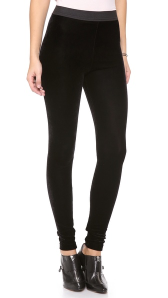 Kenny Velour Leggings