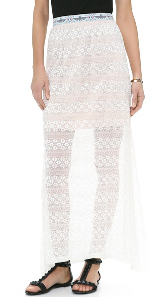 Kenny Beaded Crochet Skirt
