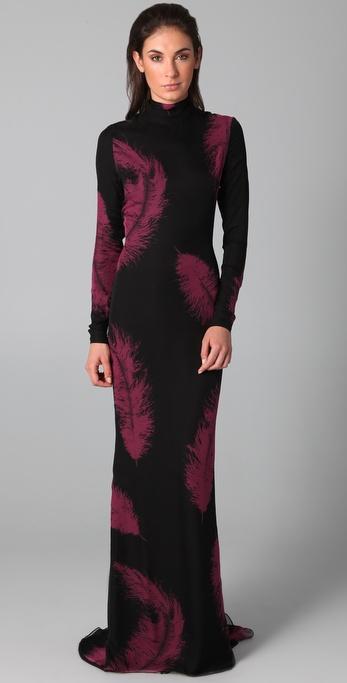 Kevork Kiledjian Flare Gown