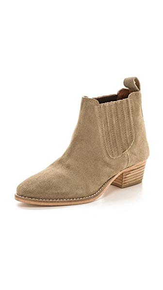 Kurt Geiger London Lang Suede Chelsea Booties