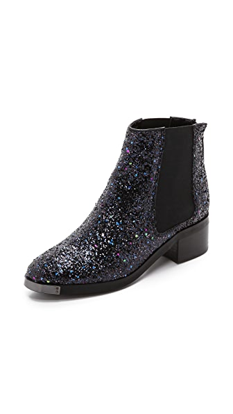 KG Kurt Geiger Shadow Glitter Booties