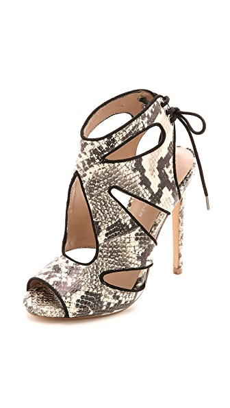 KG Kurt Geiger Hattie Snake Cutout Sandals