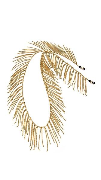 KIMBA Fringe Temple Glasses Chain