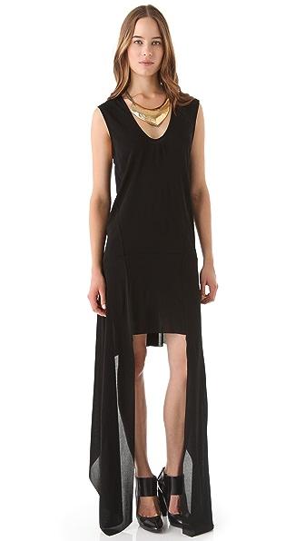 Kimberly Ovitz Matte Jersey Drop Side Dress