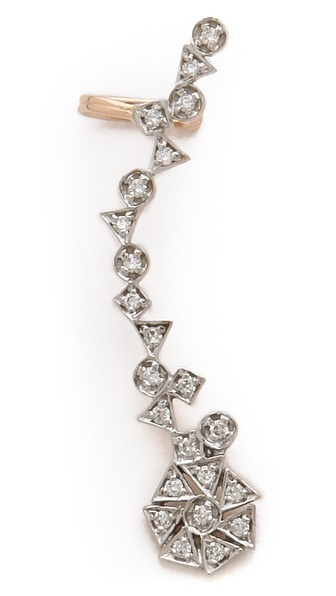 Kismet by Milka Right Diamond Ear Cuff