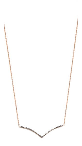 Kismet by Milka Simple Point Necklace