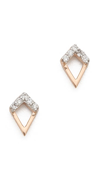 Kismet by Milka Diamond Stud Earrings
