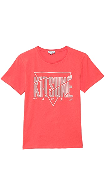 Kitsune Tee Paris 3 T-Shirt