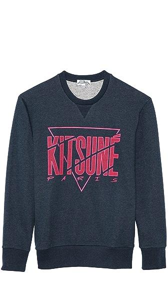 Kitsune Tee Kitsuné Paris Sweatshirt