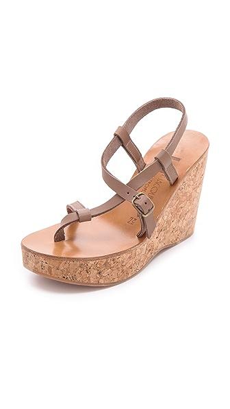 K. Jacques Diapason Cork Slide Sandals