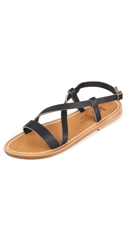 K. Jacques Flavia Flat Sandals