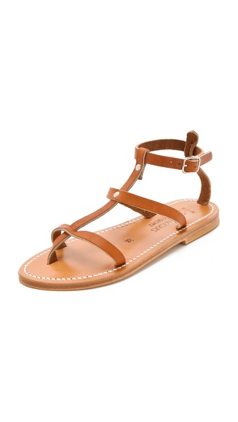 K. Jacques Gina Flat Sandals