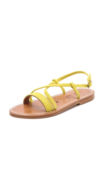 K. Jacques Flavia Suede Sandals