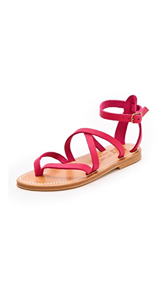 K. Jacques Epicure Crisscross Sandals