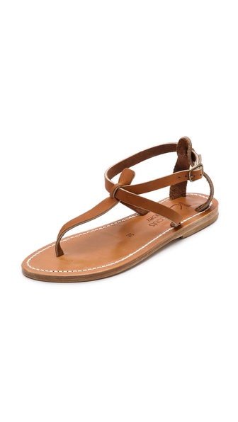 Kupi K. Jacques cipele online i raspordaja za kupiti Supple leather straps lend timeless appeal to simple K. Jacques sandals. Buckle closure. Leather sole. Leather: Calfskin. Made in France. This item cannot be gift boxed. Available sizes: 36