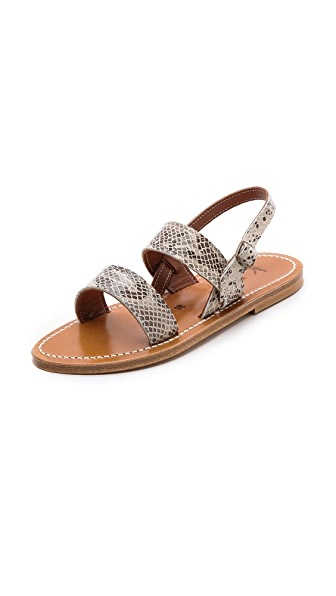 K. Jacques Barigoule Flat Sandals
