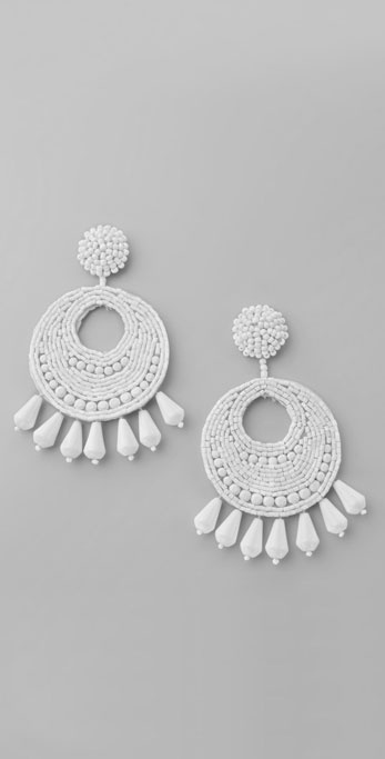 Kenneth Jay Lane Gypsy Disco Earrings