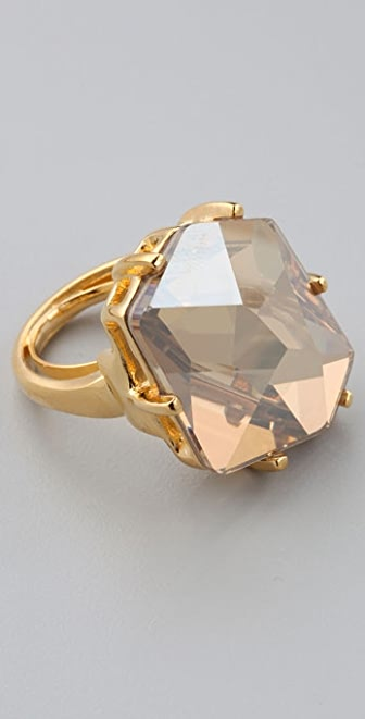 Kenneth Jay Lane Fancy Cut Ring