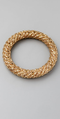 Kenneth Jay Lane Twist Bangle