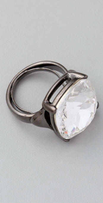 Kenneth Jay Lane Headlight Ring