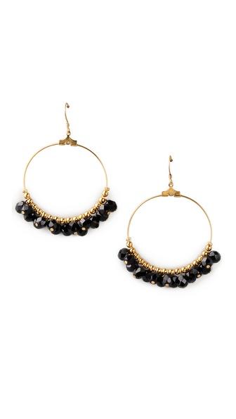 Kenneth Jay Lane Gypsy Hoop Earrings
