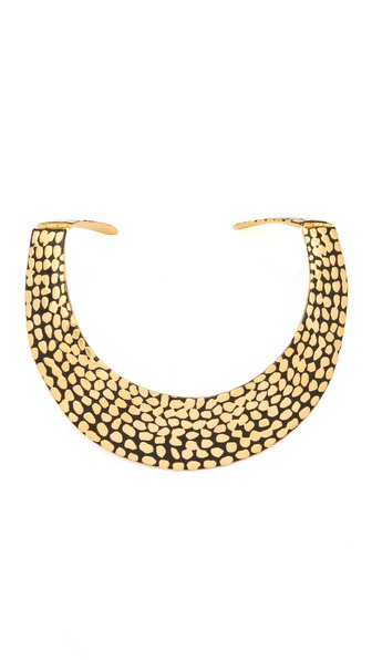 Kenneth Jay Lane Spot Bib Necklace