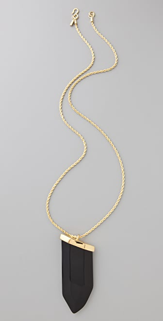 Kenneth Jay Lane Prism Pendant Necklace
