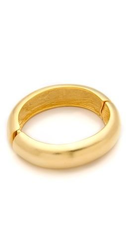 Kenneth Jay Lane Hinged Bangle