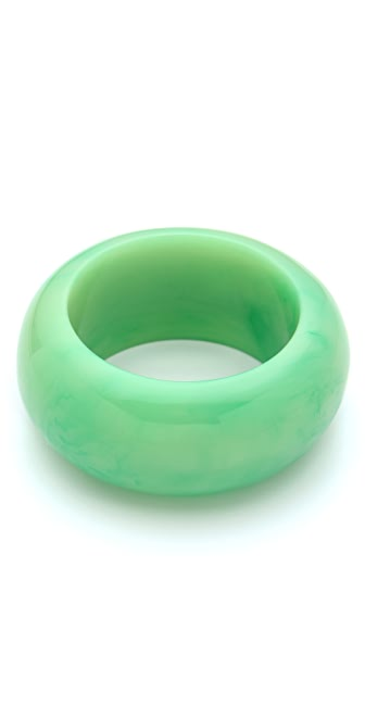 Kenneth Jay Lane Thick Resin Bangle