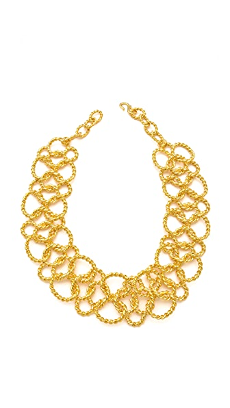 Kenneth Jay Lane Twisted Rope Necklace