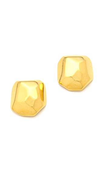 Kenneth Jay Lane Geometric Stud Earrings