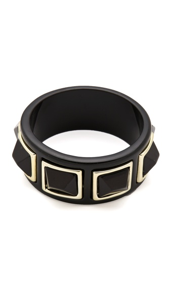 Kenneth Jay Lane Pyramids Bangle