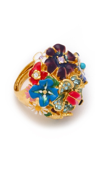Kenneth Jay Lane Garden Party Ring