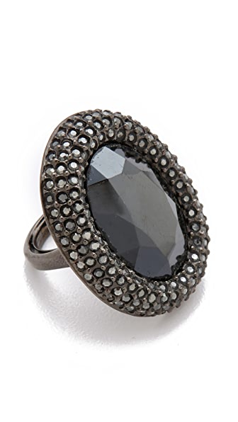 Kenneth Jay Lane Pave Cocktail Ring