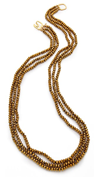 Kenneth Jay Lane Long Multi Strand Necklace