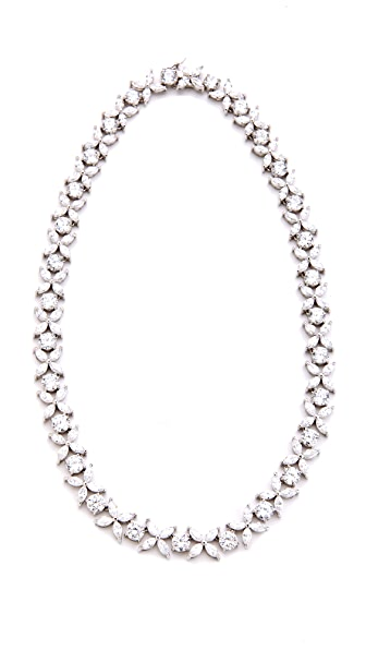 Kenneth Jay Lane Navette Statement Necklace