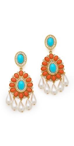 Kenneth Jay Lane Chandelier Earrings