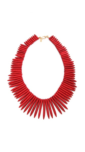 Stick Necklace | SHOPBOP :  necklace shopbop tribal red