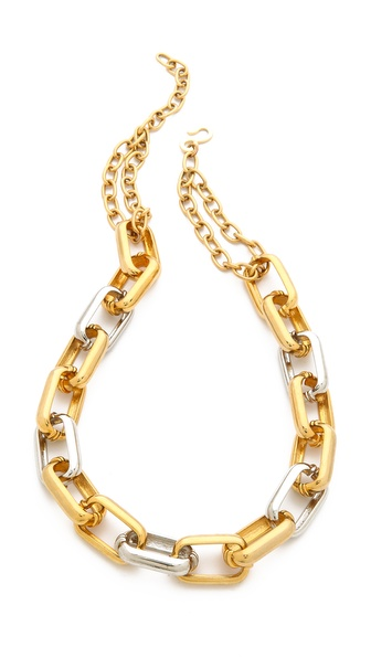 Kenneth Jay Lane Link Chain Necklace