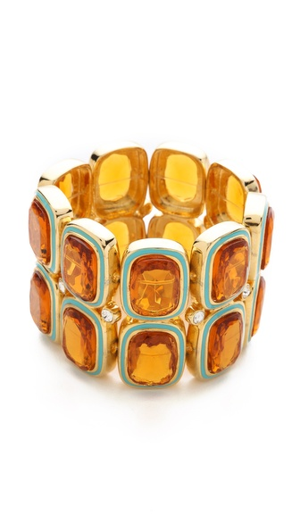 Kenneth Jay Lane Stretch Bracelet