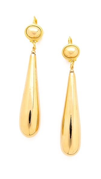 Kenneth Jay Lane Teardrop Earrings