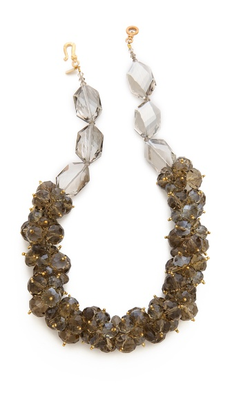 Kenneth Jay Lane Cluster Necklace