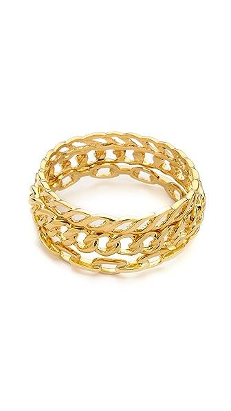Kenneth Jay Lane Bangle Bracelet Set