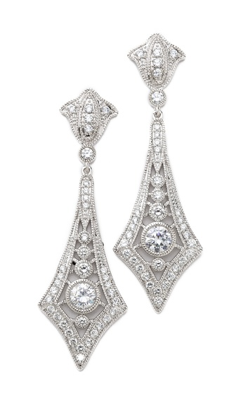 Kenneth Jay Lane Ceco Design Earrings