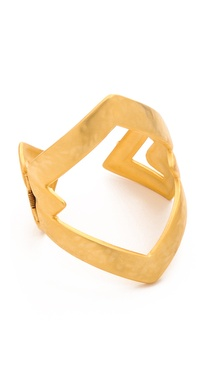 Kenneth Jay Lane Open Cuff Bracelet